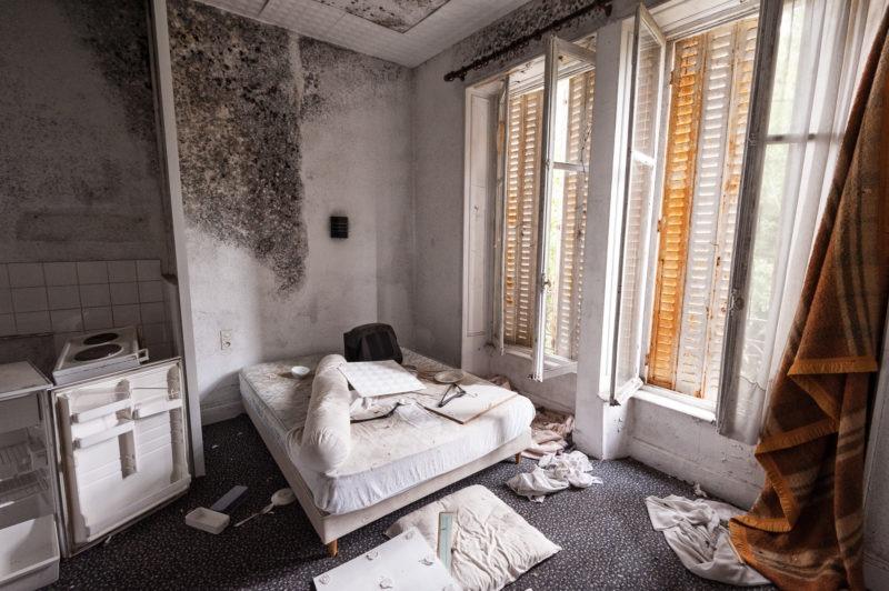 urbex - Chambre d'hotel