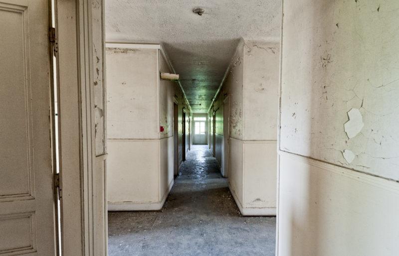 urbex - Couloirs, Clinique des sources