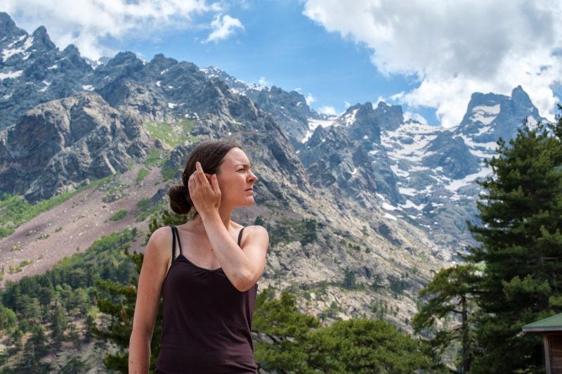 Corse station de ski du haut asco
