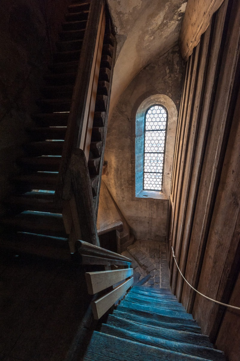 Escalier tour St-Thomas