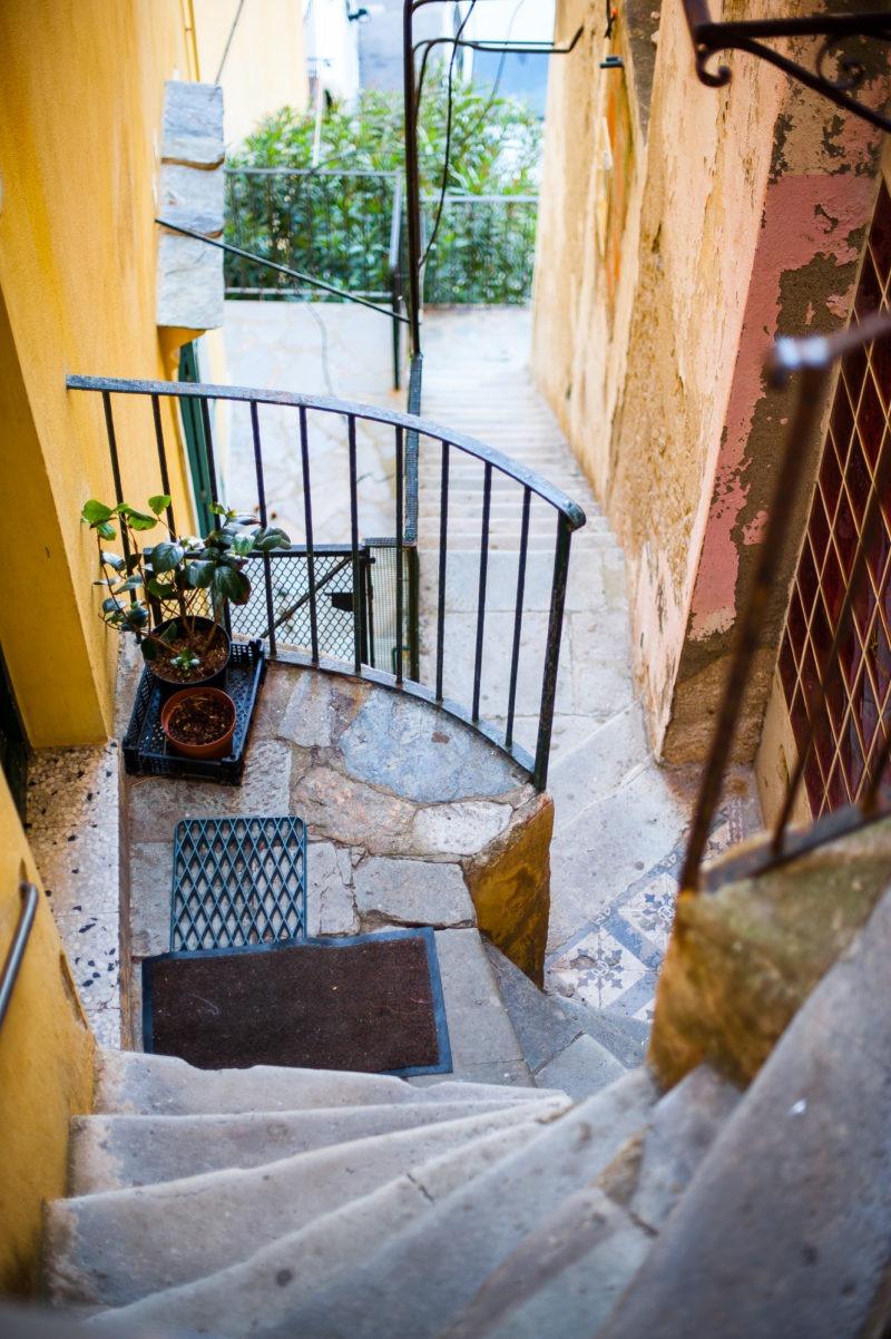 escaliers ruelle bastia corse
