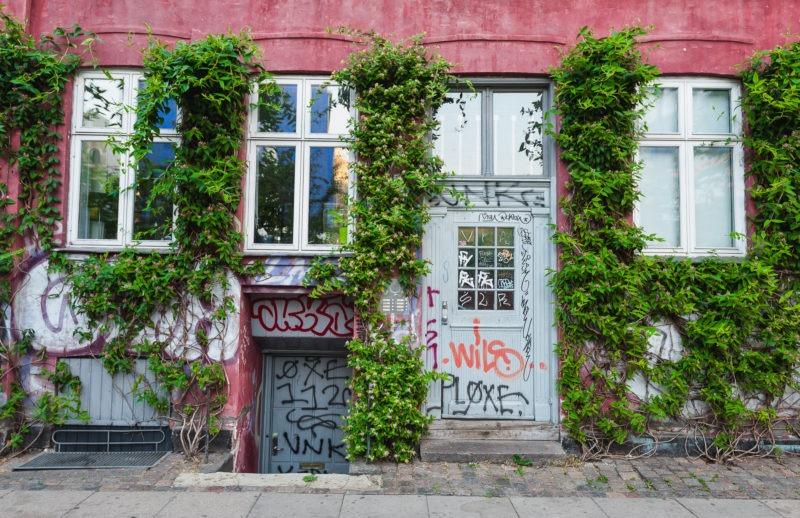Façade verte, Copenhague