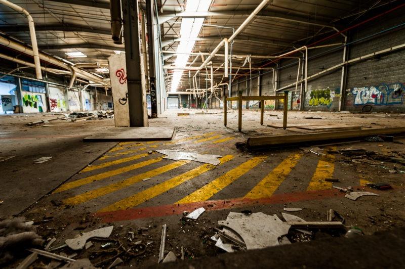 urbex - Hangar usine