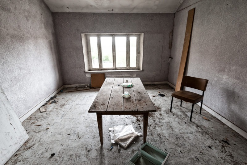urbex - Salle de detente