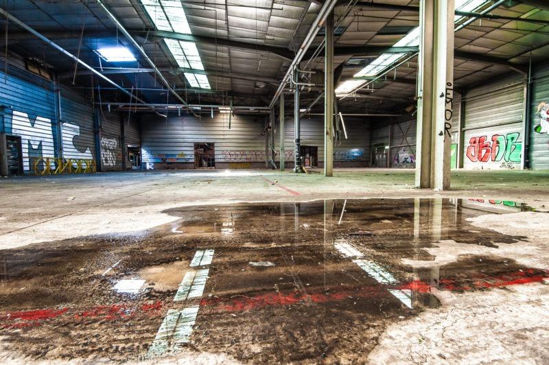 urbex - Hangar d'usine