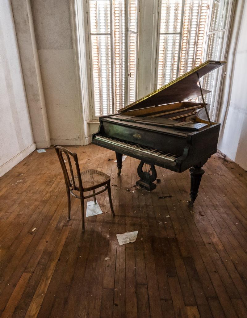 urbex - Piano hotel