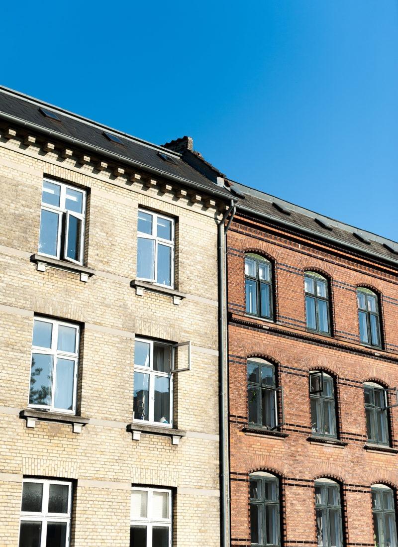 Façade immeuble, Copenhague