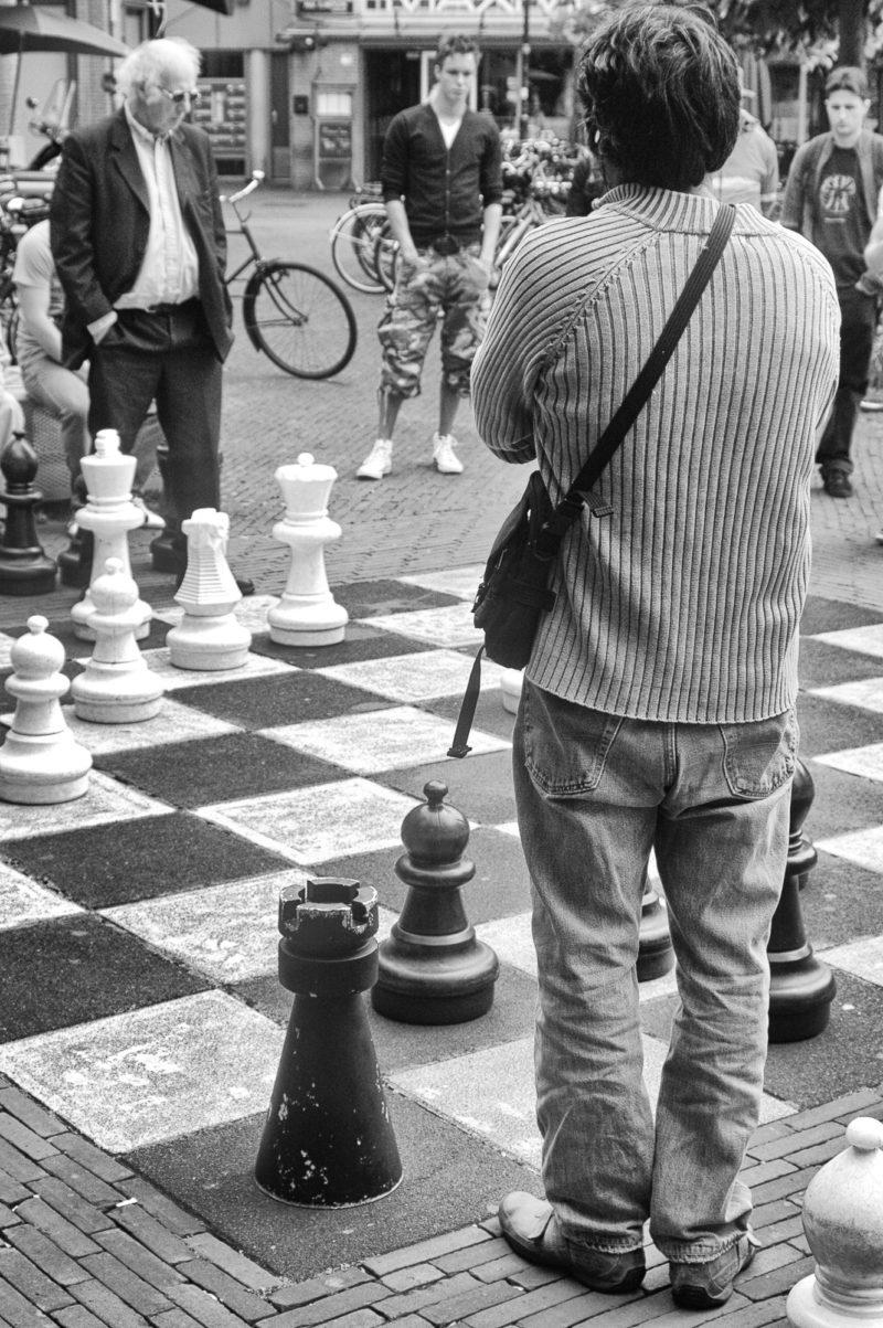 joueurs d'échecs amsterdam