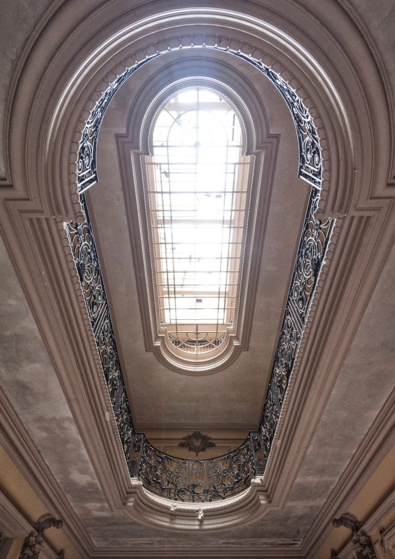 urbex - Balcons interieurs, Manoir à la verriere
