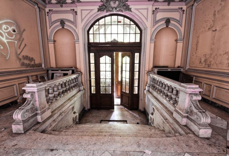urbex - Porte d'entrée, Manoir à la verriere