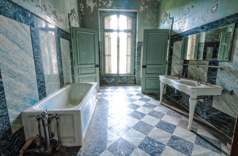 urbex - Salle de bain, Manoir à la verriere