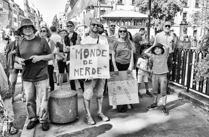 Monde de merde ? Marche pour le climat, Strasbourg