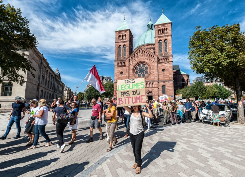Marche pour le Climat, Strasbourg