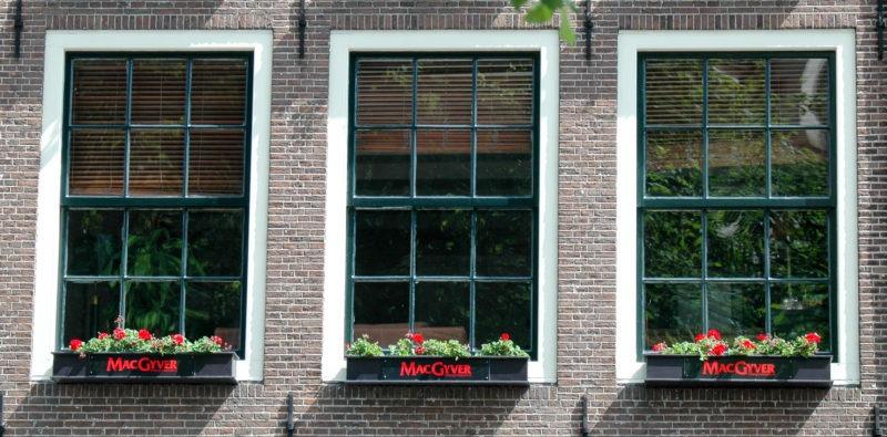 Mc gyver, Amsterdam
