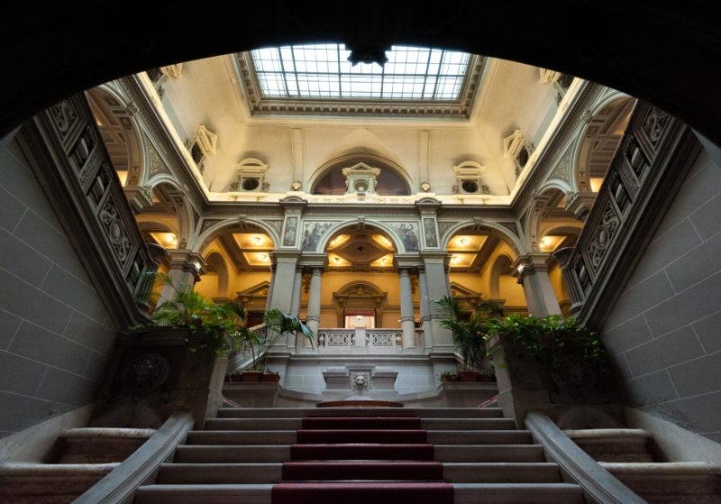 Halle du palais du Rhin