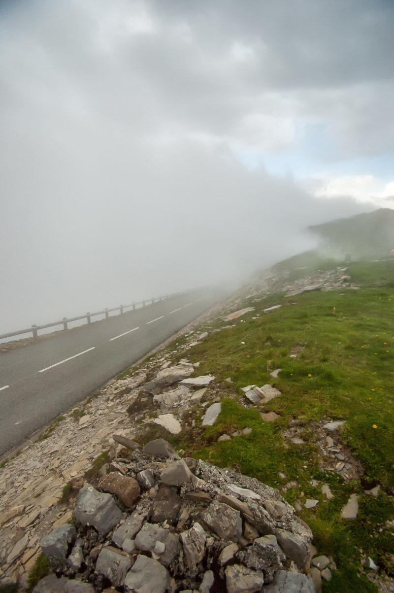 Brouillard dans les Pyrénées