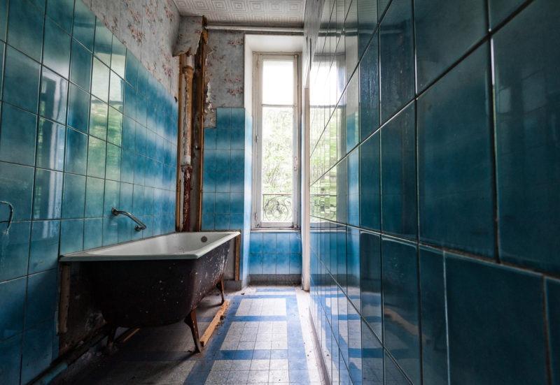 urbex - Salle de bain