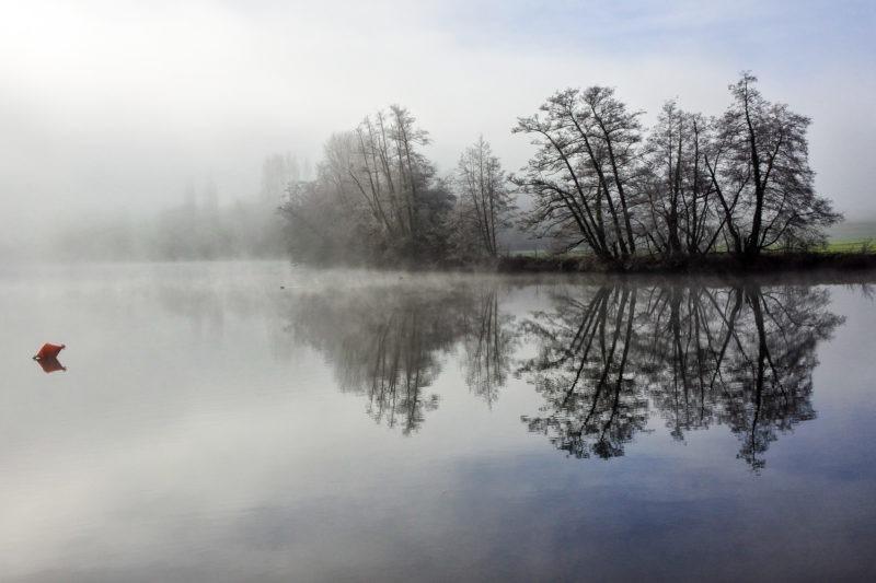 Yonne bourgogne brouillardeuse