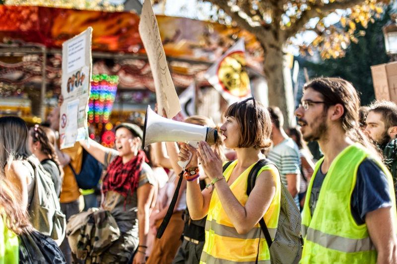 Manifestation climat strasbourg octobre 2018