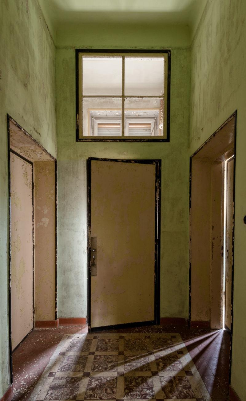 Portes vieille peinture