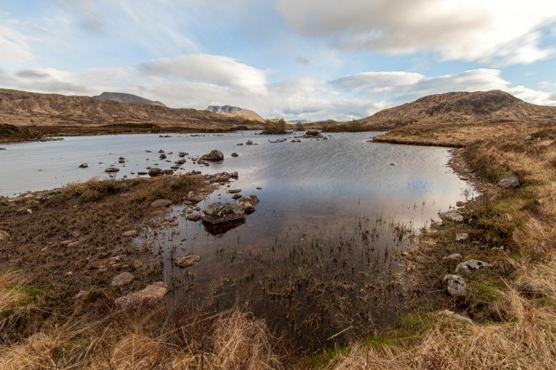 Loch Ba - Tourbes
